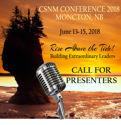 2018 CSNM Conference - Call For Presenters